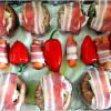 Predlog za doručak: Paprike s mocarelom u slanini