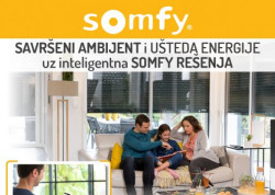 Somfy unutrašnji zasenčivači- ušteda energije i kućnog budžeta