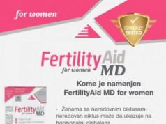 FERTILITY AID MD FOR WOMEN  ZA POBOLJŠANJE ŽENSKOG  REPRODUKTIVNOG ZDRAVLJA
